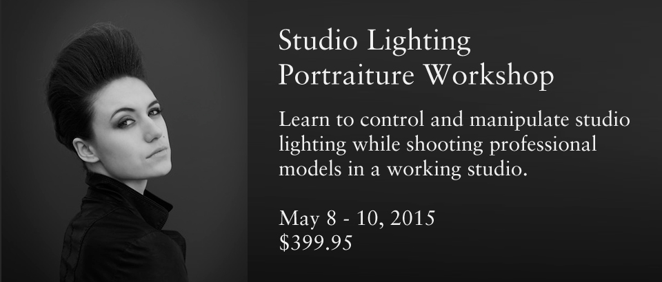 Studio Lighting for Portraiture Workshop