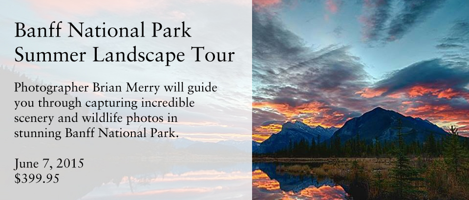 Banff Summer Landscape Tour