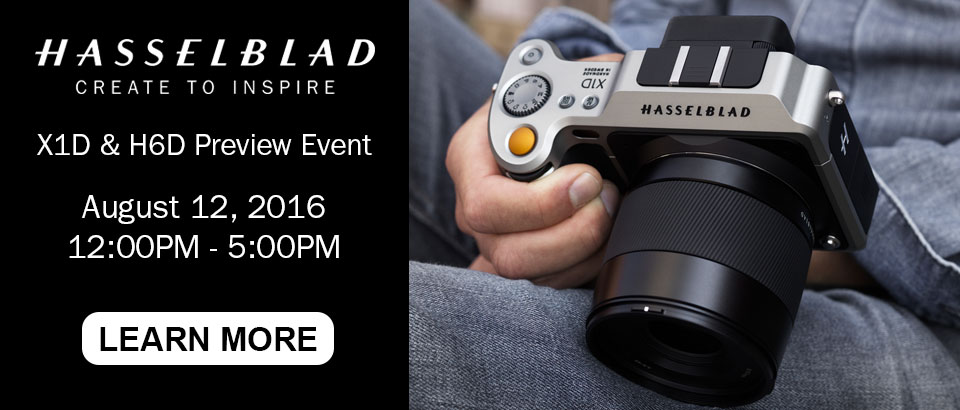 Hasselblad X1D & H6D Preview Event
