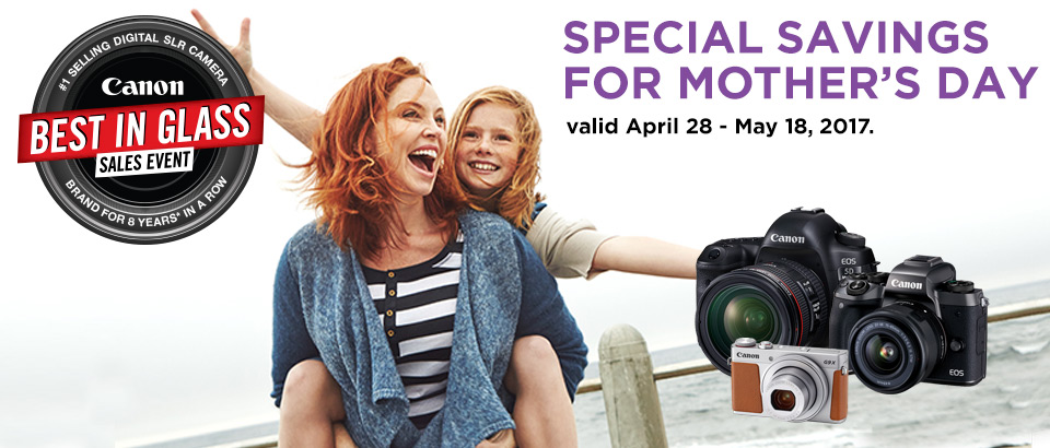Canon Mother's Day Sale