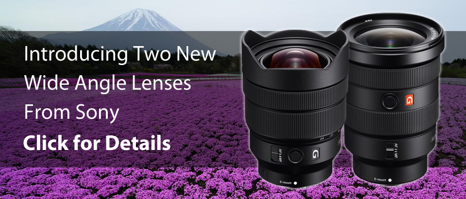 Sony Wide Angle Lens Announcement