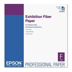 "Epson 13x19"" Exhibition Fibre - 25 sheet"