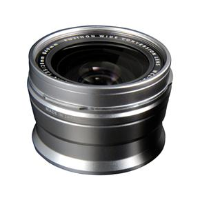 Fuji WCL-X100 Wide Conversion Lens - Silver