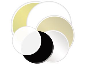 "Photoflex Litedisc 52"" Soft Gold/White"