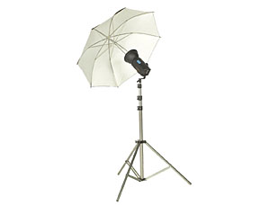 Camray 150 Watt Umbrella Kit