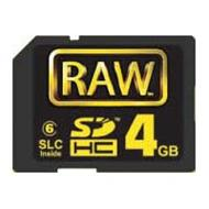 Hoodman RAW 4GB SD HC Card