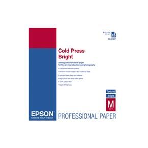 Epson Cold Press Bright Textured Matte - 25 Sheets