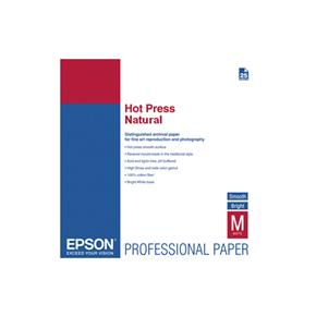 Epson Hot Press Natural White - 25 Sheets