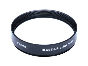 Canon 72 mm 500D Close Up Filter