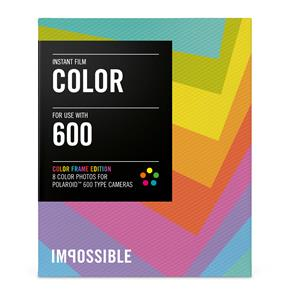 Impossible Project Colour Film for 600 with Colour Frames - 8 Exposures