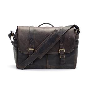 ONA The Brixton Camera and Laptop Messenger Bag - Dark Truffle