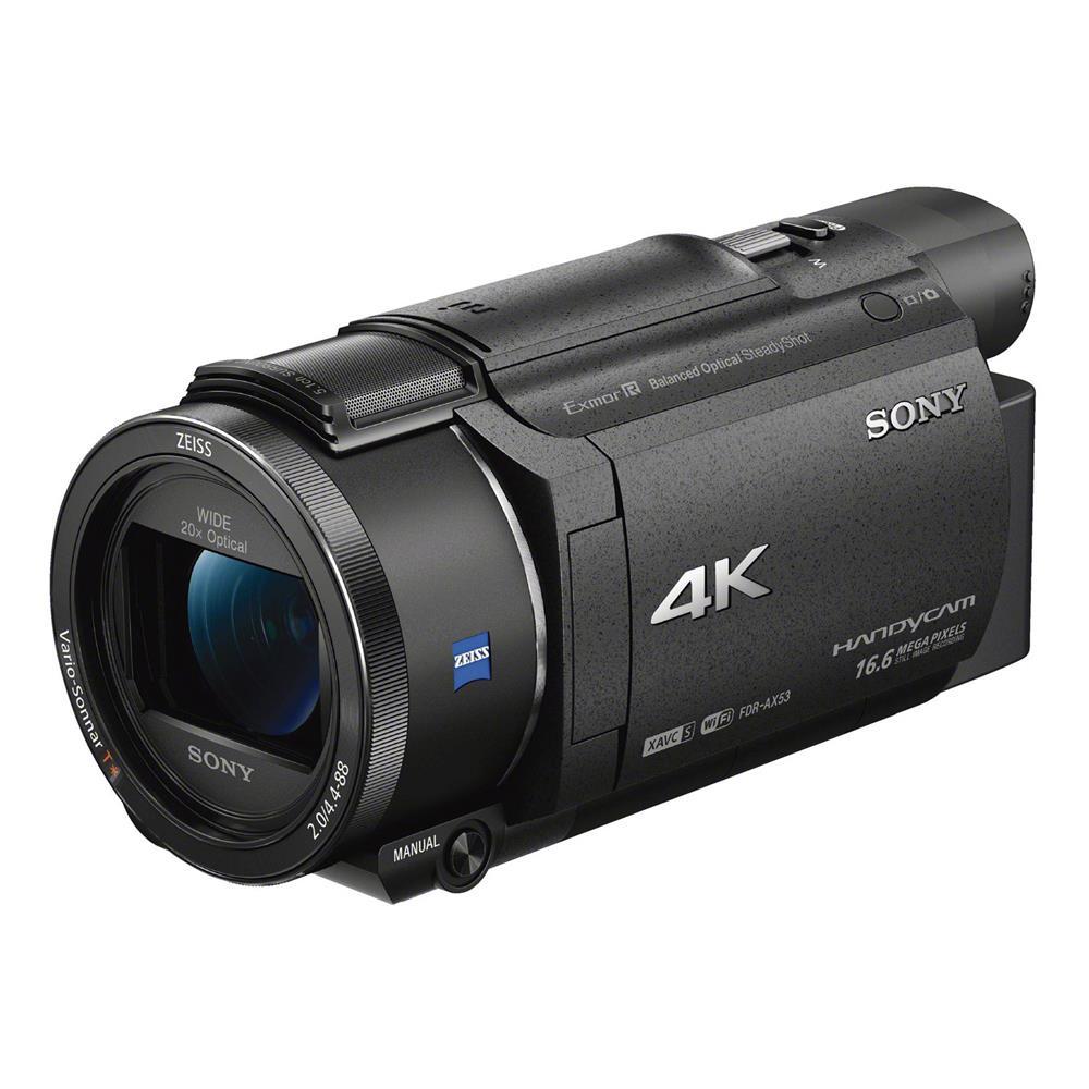 sony fdr ax53 4k handycam camcorder. Black Bedroom Furniture Sets. Home Design Ideas