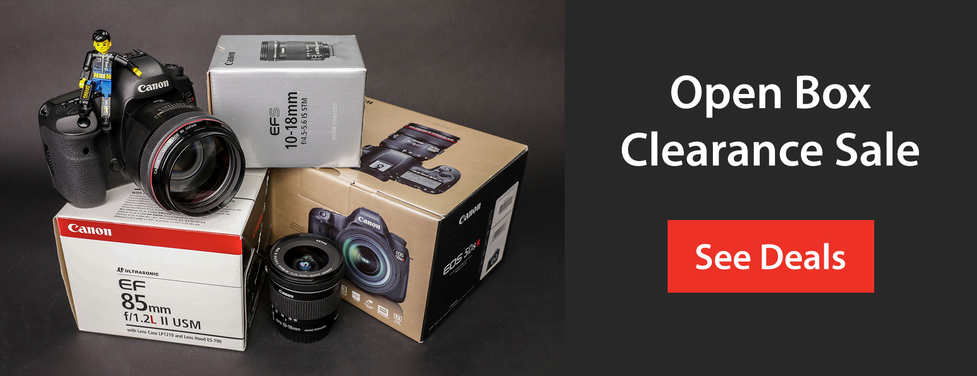 Open Box Clearance Sale