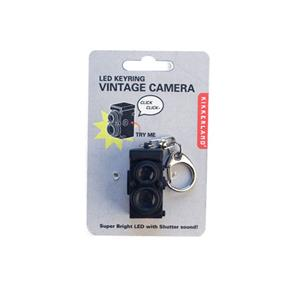 Kikkerland LED TLR Camera Keyring