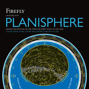 Firefly Planisphere Latitude 42 Degrees North